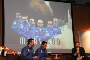 Die Crew von Mars 500