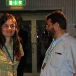 Das Haus der Astronomie und die Sterne und Weltraum haben Carolin Liefke und Tilmann Althaus nach Darmstadt entsendet.
