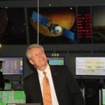 Dr. Thomas Reiter erläutert die Pläne der ESA.