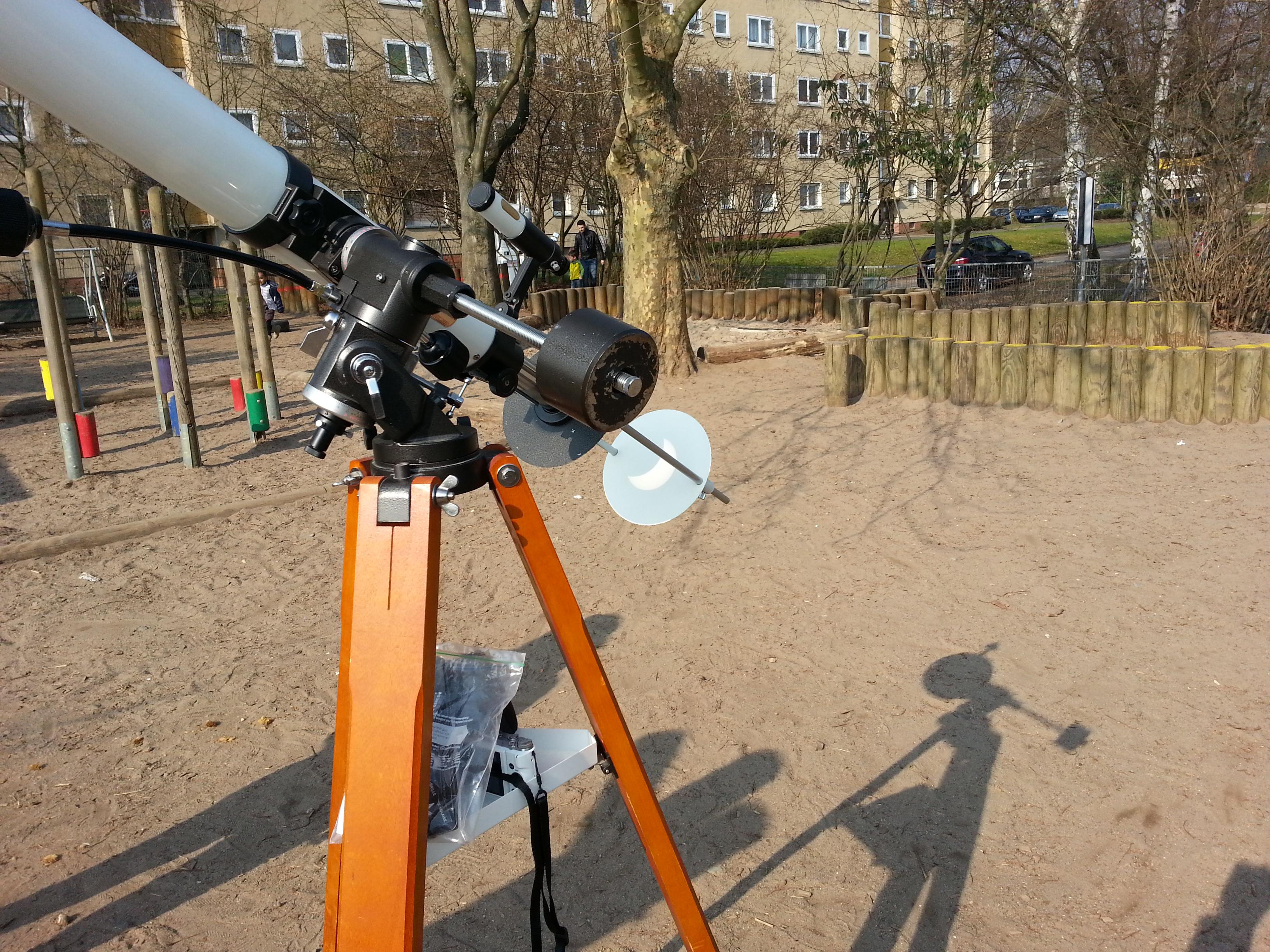 sterne anschauen teleskop