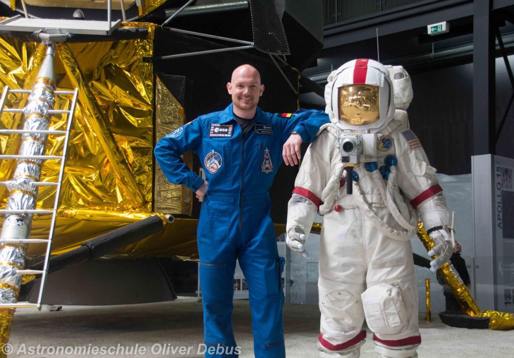ESA-Astronaut Alexander Gerst würde auch gern mal auf den Mond fliegen.