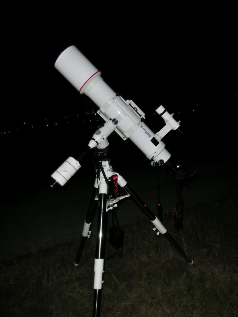 Das Bresser Messier AR152s im Feldeinsatz.