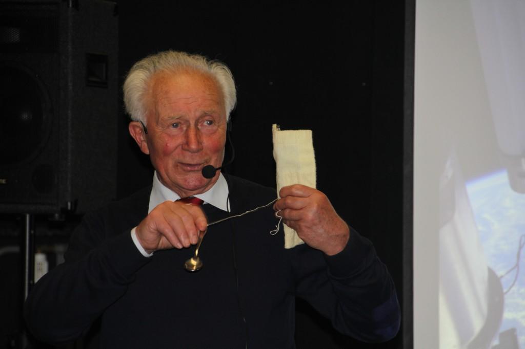 Sigmund Jähn auf dem ATT 2014.