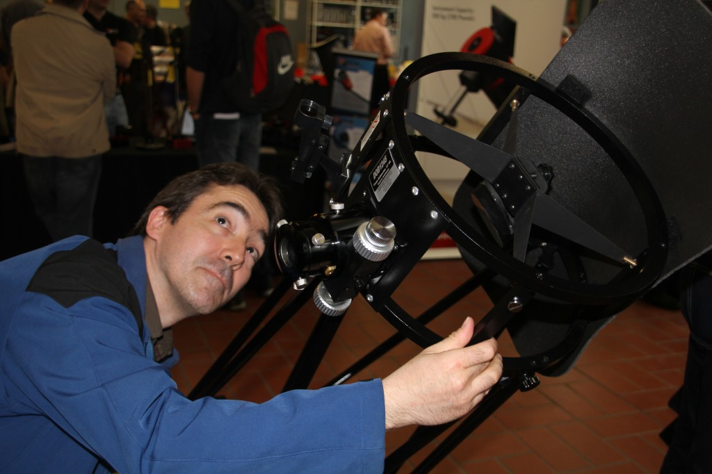 Teleskope testen.