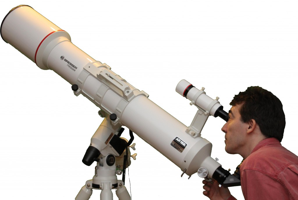 Bresser Messier AR 152L auf Exos2-Goto.