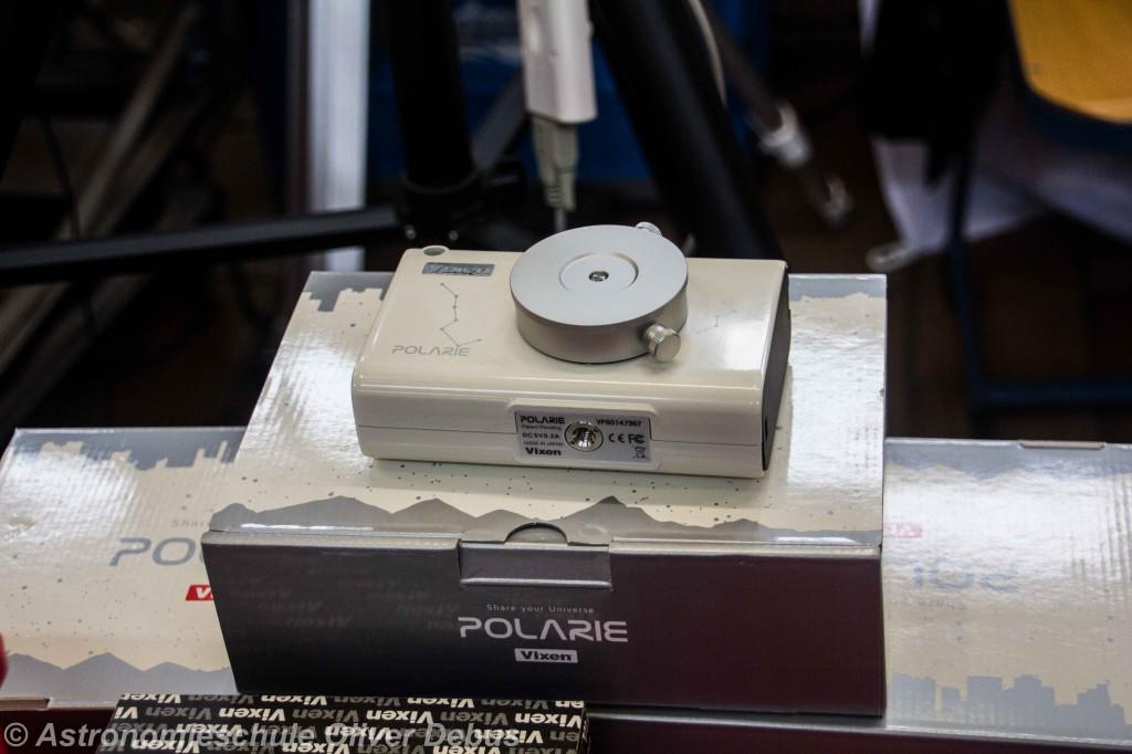 Die Vixen Polarie Star Tracker, handlicher Nachführmotor für die Astrofotgrafie.