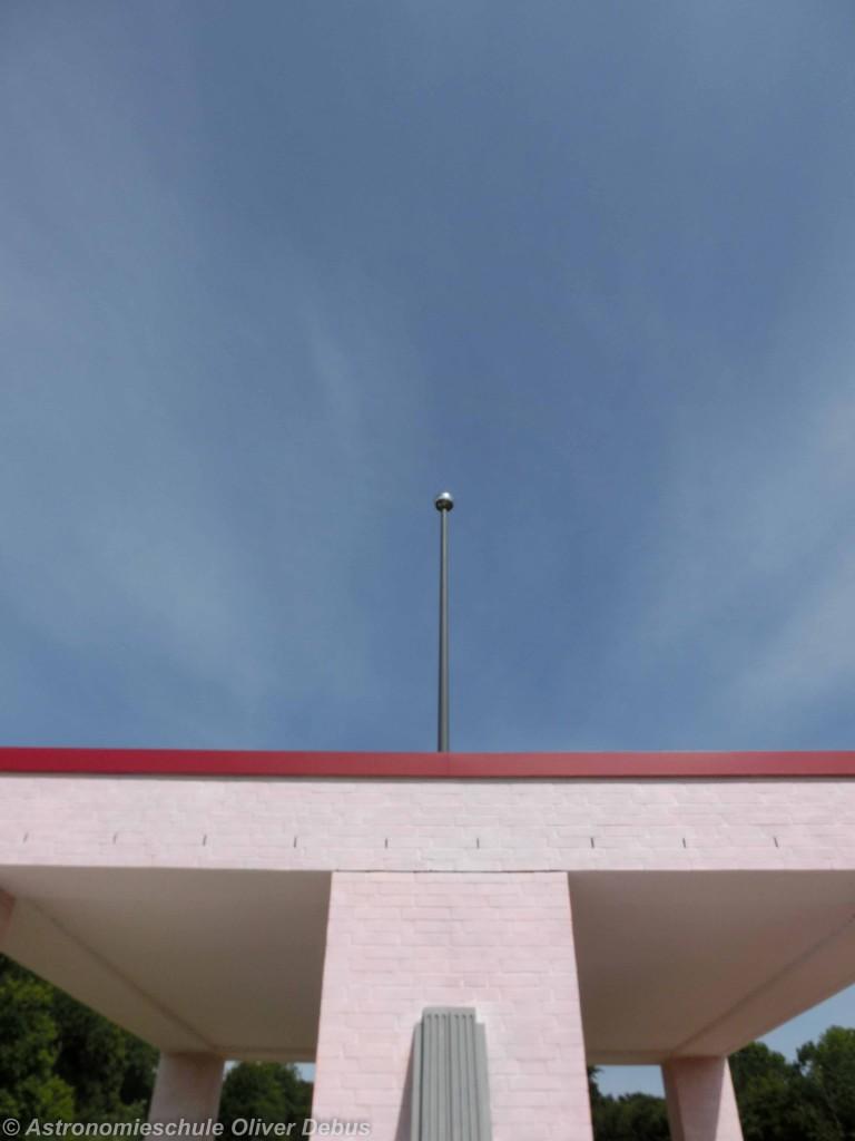 Blick zum nördlichen Himmelspol.
