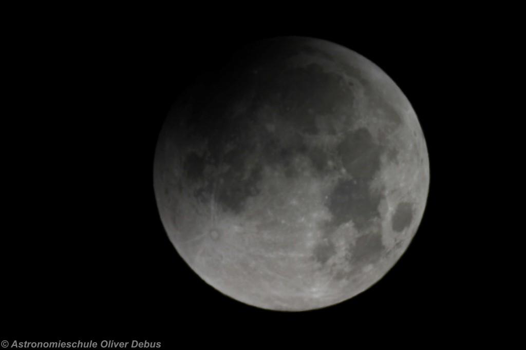 Mond durch das Vixen NP 80L.