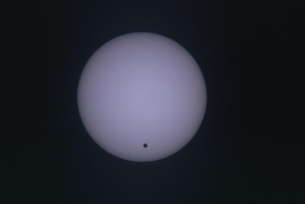 Venustransit am 8. Juni 2004.