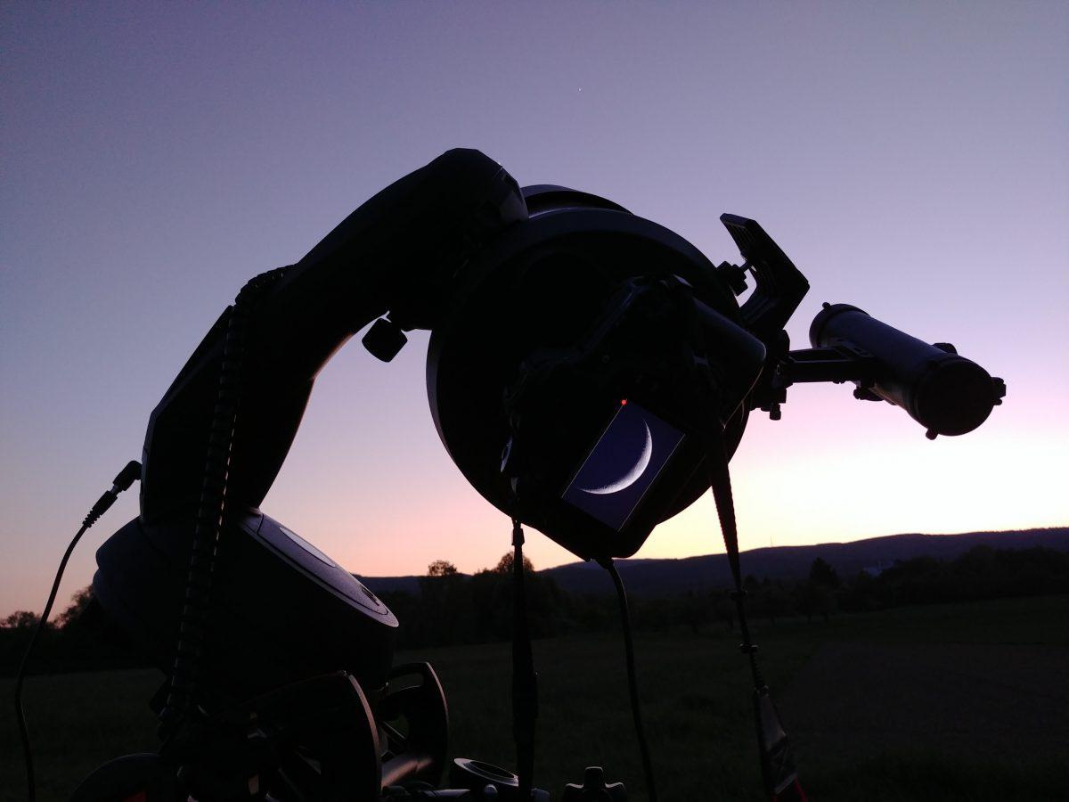Mondbeobachtung und Mondfotografie