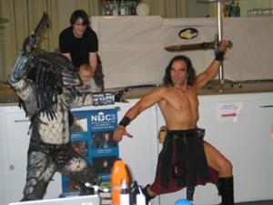 Conan vs. Predator