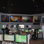 6:20 Uhr MESZ: Noch ist alles ruhig im ESOC Kontrollraum.