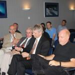 Manfred Warhaut, Paolo Ferri, Thomas Reiter und Mark McCaughrean.